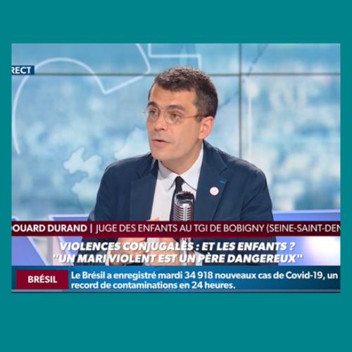 Edouard Durand Juge des enfants interview RMC 16 juin 2020 par Jean Jacques Bourdin