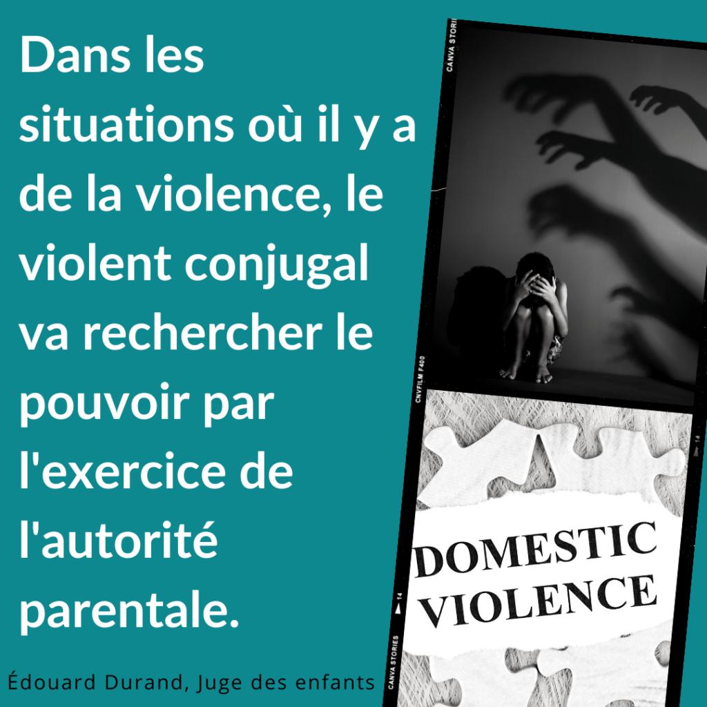 violence et pouvoir dans les familles